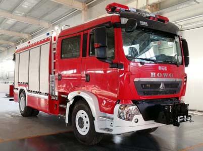 豪沃抢险救援消防车