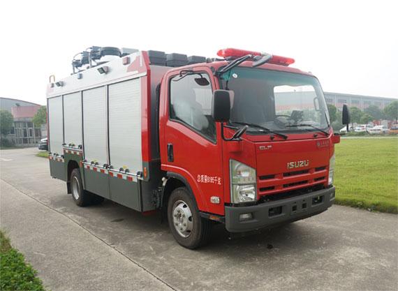 五十铃照明消防车